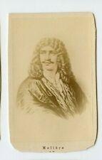 Vintage CDV Jean-Baptiste Poquelin Molière French playwright, actor