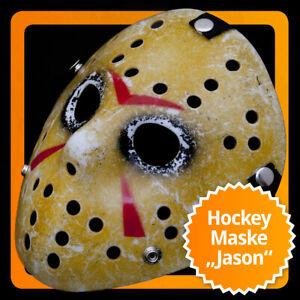 Exklusive Vintage Ice-Hockey Horror Maske Jason Hockeymaske Eishockey Icehockey
