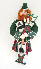 1995 SIGNED GLADYS BOALT PIPER PIPING BAGPIPER TWELVE DAYS OF CHRISTMAS ORNAMENT
