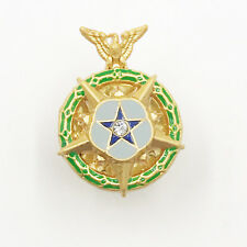 US Order Space MOH,Congressional Space Medal of Honor,mini Miniature Pin, Rare