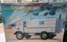 Eastern Express 35134 Russian command post on Truck GAZ-66 1/35, NEW!