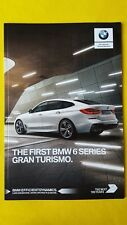 BMW 6 Series Gran Turismo M Sport SE car sales brochure catalogue 2017 MINT