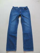 Stonewashed Levi's L34 Herren-Straight-Cut-Jeans niedriger Bundhöhe (en)