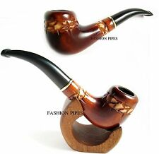 "Tobacco Pipe ""STONEHENGE"" 6.1 In for Pipe Smokers, Wooden Tobacco Smoking Pipe"