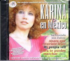 Karina en Mexico Sus Mejores  Canciones Para Discos Orfeon 1981-82 BRAND NEW  CD