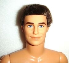 Ken Nude Doll Short Brunette Hair Articulated Nude Doll Jointed eb1