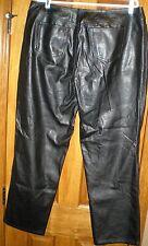 Venzia Jeans Size 16 Black Jeans Polyurethane 36X30