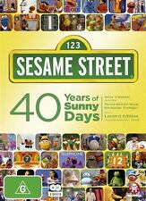 Sesame Street - 40 Years of Sunny Days (DVD, 2010, 2-Disc Set)
