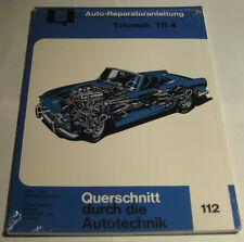 Reparaturanleitung Triumph TR 4, Baujahre 1961 - 1967