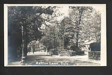 Sale - Ashton Lane - real photographic postcard