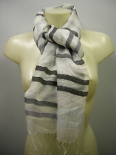 Pashmina sciarpa scarf modal SWEET YEARS art.L1461 colore 1 cenere Italy