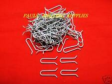 100 Sea Fishing Quick Drop Lead Weight Mould Clip Loops