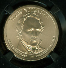 2010-P  JAMES BUCHANAN PRES. DOLLAR NGC MS67 SMS 25TH RETRO HOLDER POP-6 *