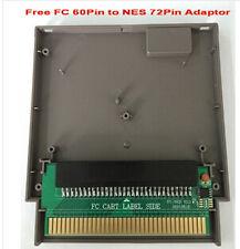 Adaptador Famicom nes adapter, 60 a 72 pines + carcasa de plastico Plastic Shell