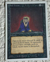 Mind Twist UNLIMITED EDITION MTG Moderate Played Magic the Gathering