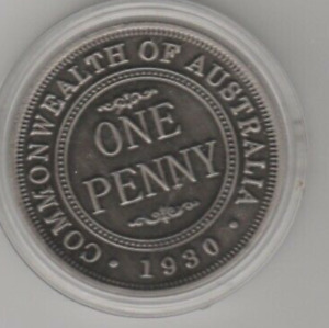 Anniversary of the 1930 Penny (B69)