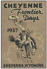 CHEYENNE DADDY OF 'EM ALL 1937 - PRINT