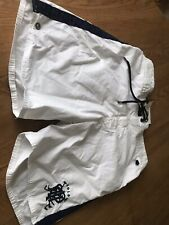 Ralph Lauren White Newport Trunk  Shorts Small