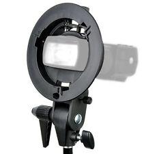 Godox S-Type Bracket Bowens S Mount Holder F Speedlite Flash Snoot Softbox Light