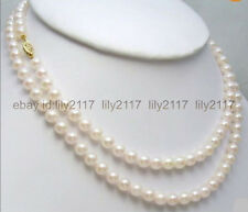 Akoya Pearl Necklace 35 Inch New 8-9Mm Aaaa White Japanese