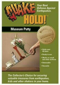 Quake Hold Museum Putty Wax Quake Hold Earthquake Fast Delivery
