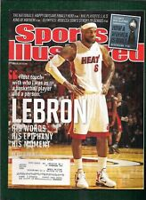 LEBRON JAMES - SPORTS ILLUSTRATED - MAGAZINE - APRIL 30, 2012