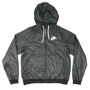 Nike Sportswear Windrunner Jacket Women's small CN6910 010 Black NWT