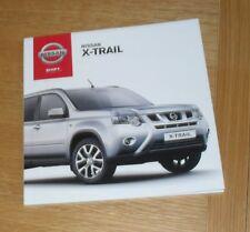Nissan X-Trail Brochure 2012