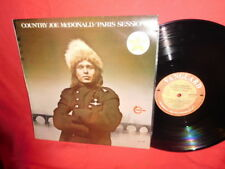 COUNTRY JOE McDONALD Paris sessions LP 1973 AUSTRALIA MINT- First Pressing