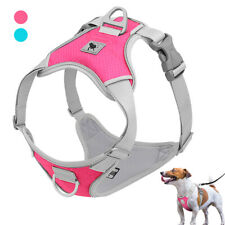 Soft Mesh No Pull Dog Harness Reflective Front Leading Dog Vest Small Large Dogs