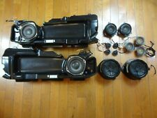 Bose 13-Piece Car Sound System *Powered* Speakers Audi A6 S6 RS6 C6 2004-2011