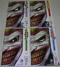 BATMAN & ROBIN, DETECTIVE, NIGHTWING & RED HOOD #15 DIE-CUT COVERS (VF) JOKER