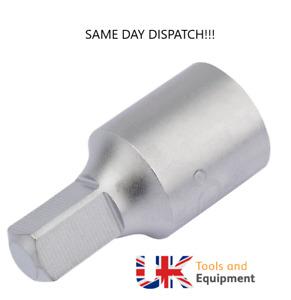 Draper 3/8 8mm Square Oil Sump Drain Plug Key Tool Remover Renau Citroen Peugeot