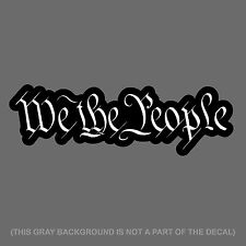 """x2 We The People Constitution American Pro Vinyl Decal Sticker 7"""" #DigiPrnt"""