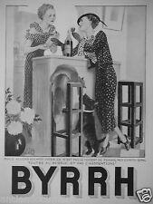 PUBLICITÉ 1935 BYRRH NOUS ALLONS BIENTÔT VOTER - ADVERTISING