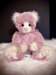 Charlie Bear -  Diane Secret Collection 2020 Pink Plush Bear