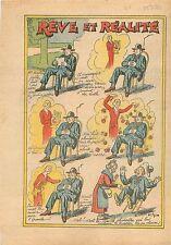 Humour Rêve & Réalité Chaisière Location Chaise Jardin du Luxembourg Luth 1934