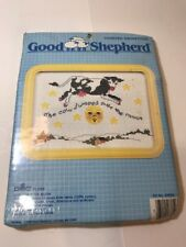 """GOOD SHEPHERD COUNTED CROSS STITCH KIT """"THE COW JUMPED OVER THE MOON"""" Kids Room"""