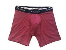 Calvin Klein Mens Microfiber Boxer Brief Medium  Magenta