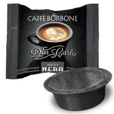 100 CAPSULE DON CARLO CAFFE BORBONE MISCELA NERA NERO PER LAVAZZA A MODO MIO