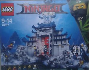 LEGO NINJAGO -70617- LE TEMPLE DE L'ULTIME ARME-9/14 ANS SUPERBE NEUF SCELLE