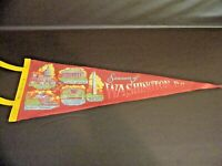 Souvenir Of Washington, D.C. Felt Pennant Vintage Travel Souvenir
