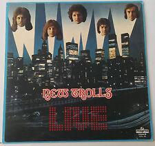 NEW TROLLS - LIVE    LP  ITALY  1976