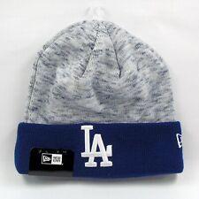 New Era Cap Men's MLB LA Dodgers Chiller Tone Winter Knit Beanie Hat