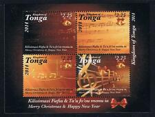 Tonga 2014 Christmas Stamp Issue Souvenir Sheet