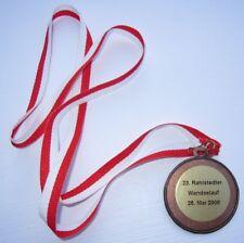 23. Rahlstedter Wandselauf Hamburg 2008 Medaille am Band NEU (A57v)
