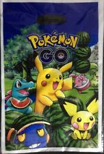10 Pokemon Pikachu Party Gift Bags Candy Favour Bag Loot Bags For Birthday