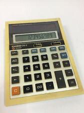 Vintage Casio DS-2 Desk Calculator Solar Cell Electronic Calculator