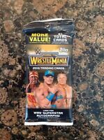 2015 Topps WWE Road To Wrestlemania  JUMBO Pack-21count!Chance at autograph card