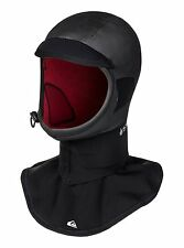 Quiksilver Highline 2mm Hood w/ Dickie - Surfing Hood - Small, Black